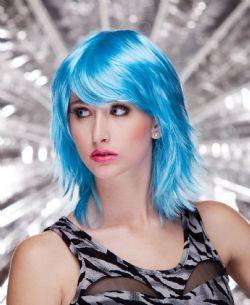 KHARMA WIG - ANIME STYLE - COOL BLUE -  KHARMA