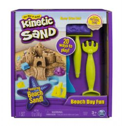 KINETIC SAND -  BEACH DAY FUN (12OZ)