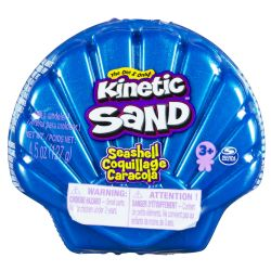 KINETIC SAND -  BLUE SHELL (4.5OZ)