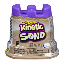 KINETIC SAND -  BROWN (4.5OZ)