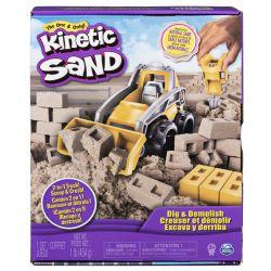 KINETIC SAND -  DIG & DEMOLISH
