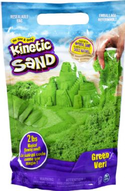 KINETIC SAND -  GREEN (2 LBS)
