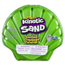 KINETIC SAND -  GREEN SHELL (4.5OZ)
