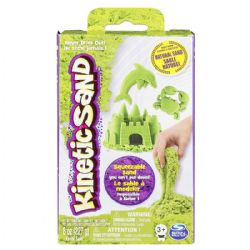 KINETIC SAND -  NEON GREEN (8OZ)