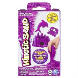 KINETIC SAND -  NEON PURPLE (8OZ)