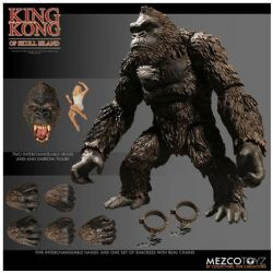 KING KONG -  KING KONG OF SKULL ISLAND ACTION FIGURE WITH ACCESSORIES (7