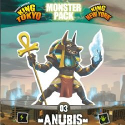 KING OF TOKYO -  ANUBIS (FRENCH) -  MONSTER PACK