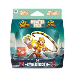 KING OF TOKYO -  CYBERTOOTH (FRENCH) -  MONSTER PACK