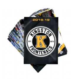 KINGSTON FRONTENACS -  (25 CARDS) -  2018-19