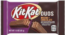 KIT KAT DUOS -  MOCHA + CHOCOLATE (1.5 OZ)