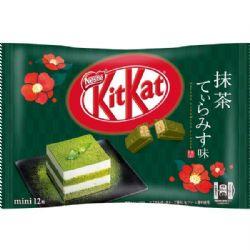 KIT KAT -  GREEN TEA & TIRAMISU (118 G)