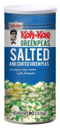 KOH-KAE -  SALTED AND COATED GREEN PEAS (180 G)