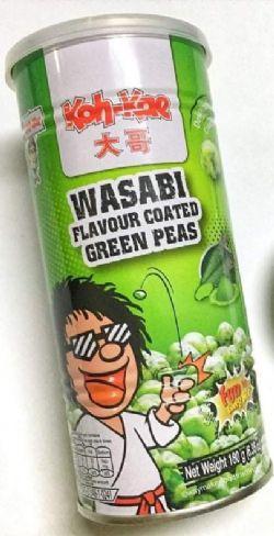 KOH-KAE -  WASABI FLAVOUR COATED GREEN PEAS (180 G)