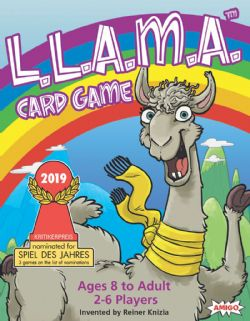 L.L.A.M.A CARD GAME (ENGLISH)
