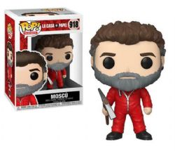 LA CASA DE PAPEL -  POP! VINYL FIGURE OF MOSCU(4 INCH) 918