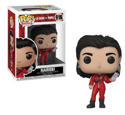 LA CASA DE PAPEL -  POP! VINYL FIGURE OF NAIROBI (4 INCH) 916
