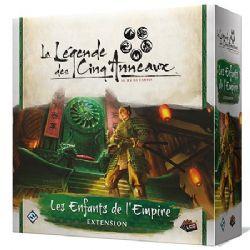 LA LÉGENDE DES CINQ ANNEAUX : LE JEU DE CARTES -  LES ENFANTS DE L'EMPIRE (FRENCH)