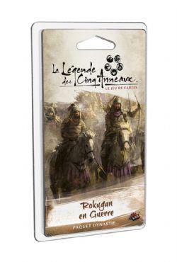 LA LÉGENDE DES CINQ ANNEAUX : LE JEU DE CARTES -  ROKUGAN EN GUERRE (FRENCH)