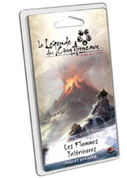 LA LÉGENDE DES CINQ ANNEAUX -  LES FLAMMES INTÉRIEURES - DYNASTY PACK (FRENCH)