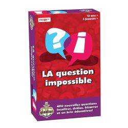 LA QUESTION IMPOSSIBLE 3 (FRENCH)