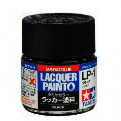 LACQUER PAINT -  BLACK (KURE ARSENAL) (1/3 OZ) LP-1