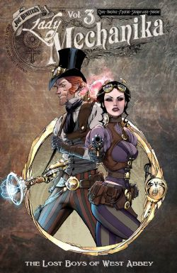 LADY MECHANIKA -  THE LOST BOYS OF WEST ABBEY TP 03