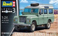 LAND ROVER -  LAND ROVER SERIES III LWB 1/24 (LEVEL 3 - MEDIUM)