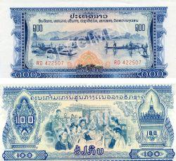 LAOS -  100 KIP 1968 (UNC)