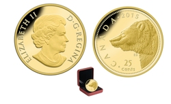 LARGE MAMMALS -  GRIZZLY -  2015 CANADIAN COINS 04