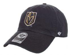 LAS VEGAS GOLDEN KNIGHTS -  ADJUSTABLE BLACK CAP