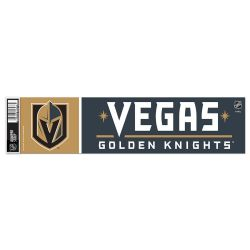 LAS VEGAS GOLDEN KNIGHTS -  BUMPER STICKER