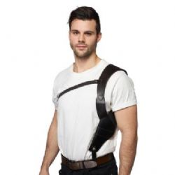 LEATHER LIKE SHOULDER HOLSTER SET ADJUSTABLE