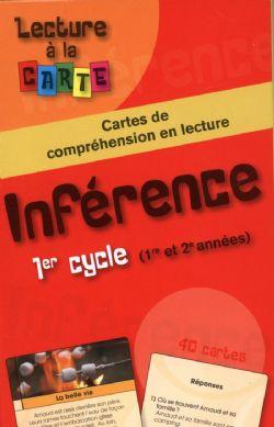 LECTURE À LA CARTE -  INFÉRENCE 1ER CYCLE (1RE ET 2E ANNÉES)