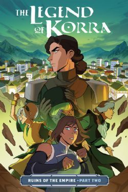 LEGEND OF KORRA -  RUINS OF EMPIRE TP -  PART TWO