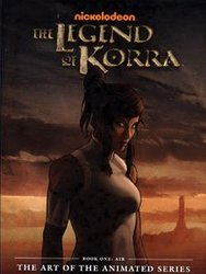 LEGEND OF KORRA, THE -  AIR HC -  THE ART OF THE ANIMATED SERIES 01