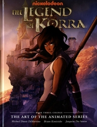 LEGEND OF KORRA, THE -  CHANGE HC -  THE ART OF THE ANIMATED SERIES 03