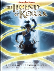 LEGEND OF KORRA, THE -  SPIRIT HC -  THE ART OF THE ANIMATED SERIES 02