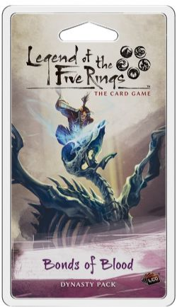 LEGEND OF THE FIVE RINGS : THE CARD GAME -  BONDS OF BLOOD (ENGLISH)