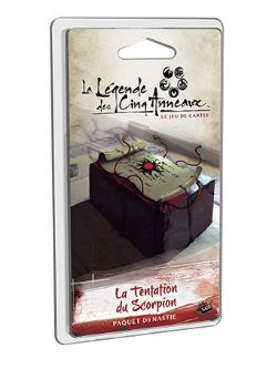 LEGEND OF THE FIVE RINGS : THE CARD GAME -  LA TENTATION DU SCORPION (FRENCH)