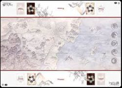 LEGEND OF THE FIVE RINGS : THE CARD GAME -  PLAYMAT - HONORED DUEL TWO-PLAYER