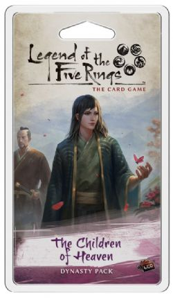 LEGEND OF THE FIVE RINGS : THE CARD GAME -  THE CHILDREN OF HEAVEN (ENGLISH)