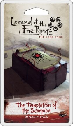 LEGEND OF THE FIVE RINGS : THE CARD GAME -  THE TEMPTATION OF THE SCORPION (ENGLISH)