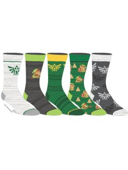 LEGEND OF ZELDA, THE -  5 PAIRS OF SOCKS