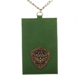 LEGEND OF ZELDA, THE -  CHAIN LANYARD WITH METAIL BADGE ID