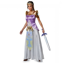 LEGEND OF ZELDA, THE -  DELUXE ZELDA COSTUME (ADULT)