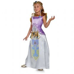 LEGEND OF ZELDA, THE -  DELUXE ZELDA COSTUME (CHILD)
