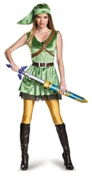 LEGEND OF ZELDA, THE -  LINK DELUXE COSTUME (ADULT)