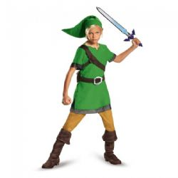 LEGEND OF ZELDA, THE -  LINK DELUXE COSTUME (CHILD)