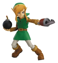 LEGEND OF ZELDA, THE -  LINK - DELUXE EDITION FIGMA ACTION FIGURE (5 1/2
