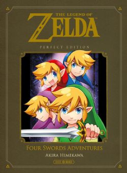 LEGEND OF ZELDA, THE -  PERFECT EDITION (V.F.) -  FOUR SWORDS ADVENTURES